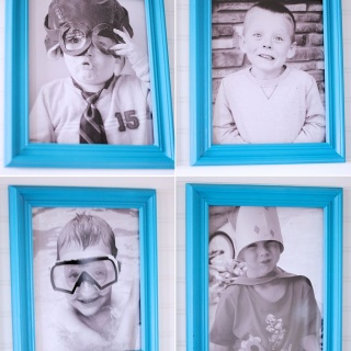 Great Way to Decorate with Picture Frames {& a Giveaway!}