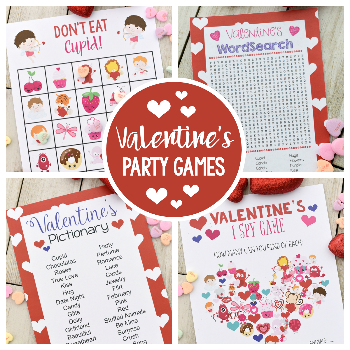 Fun Valentine Games