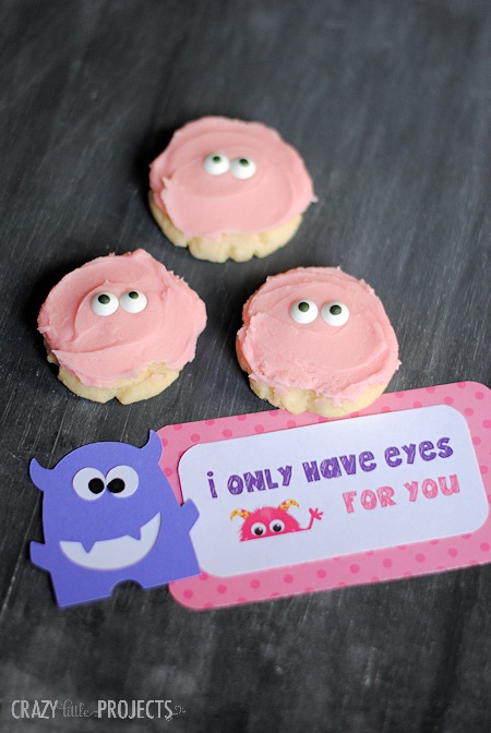 I Only Have Eyes For You Monster Valentines