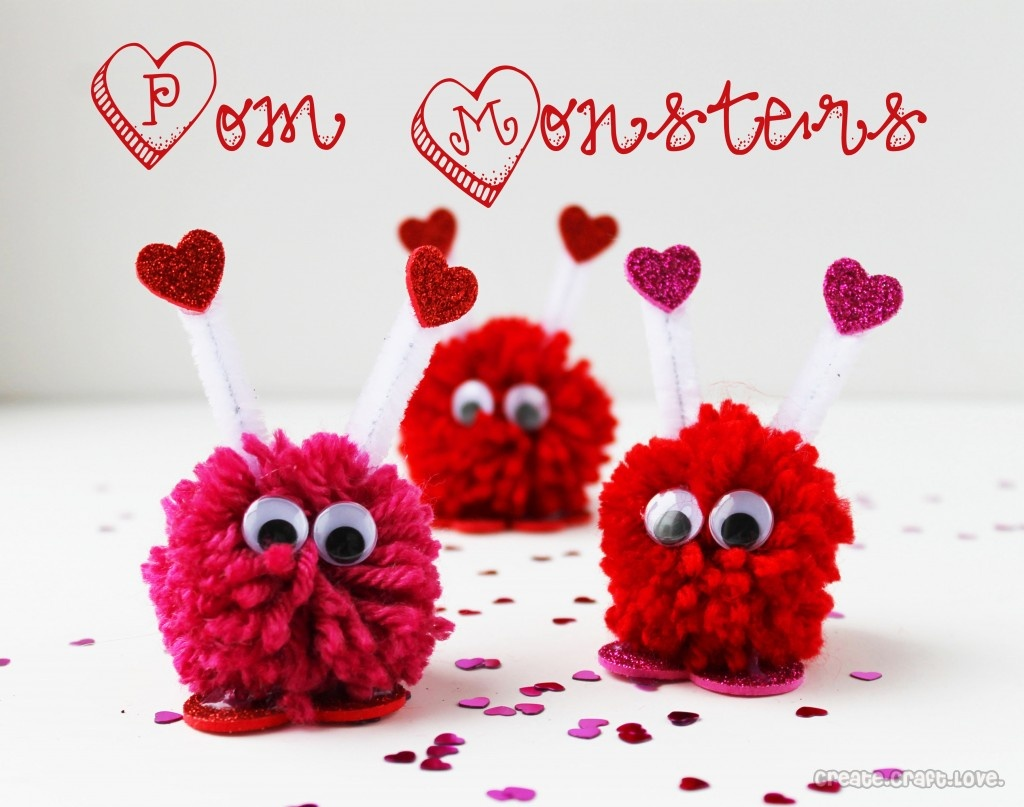 50 Valentine Party Ideas – Cookie Monster Valentine Cards