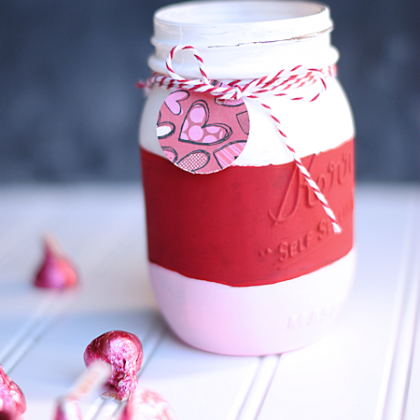 Valentine Candy Jar