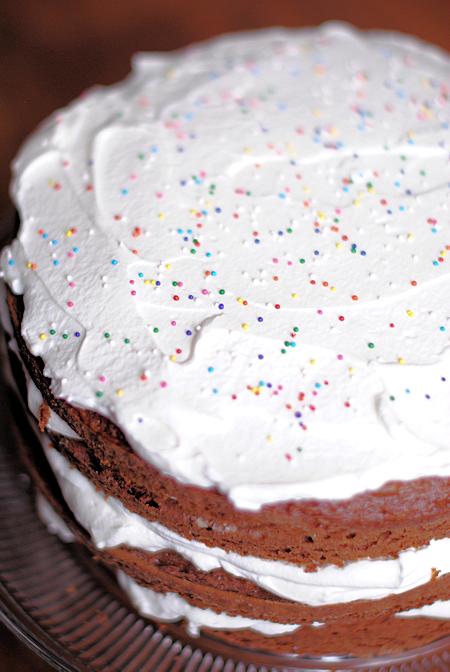 Easy Birthday Cake Idea