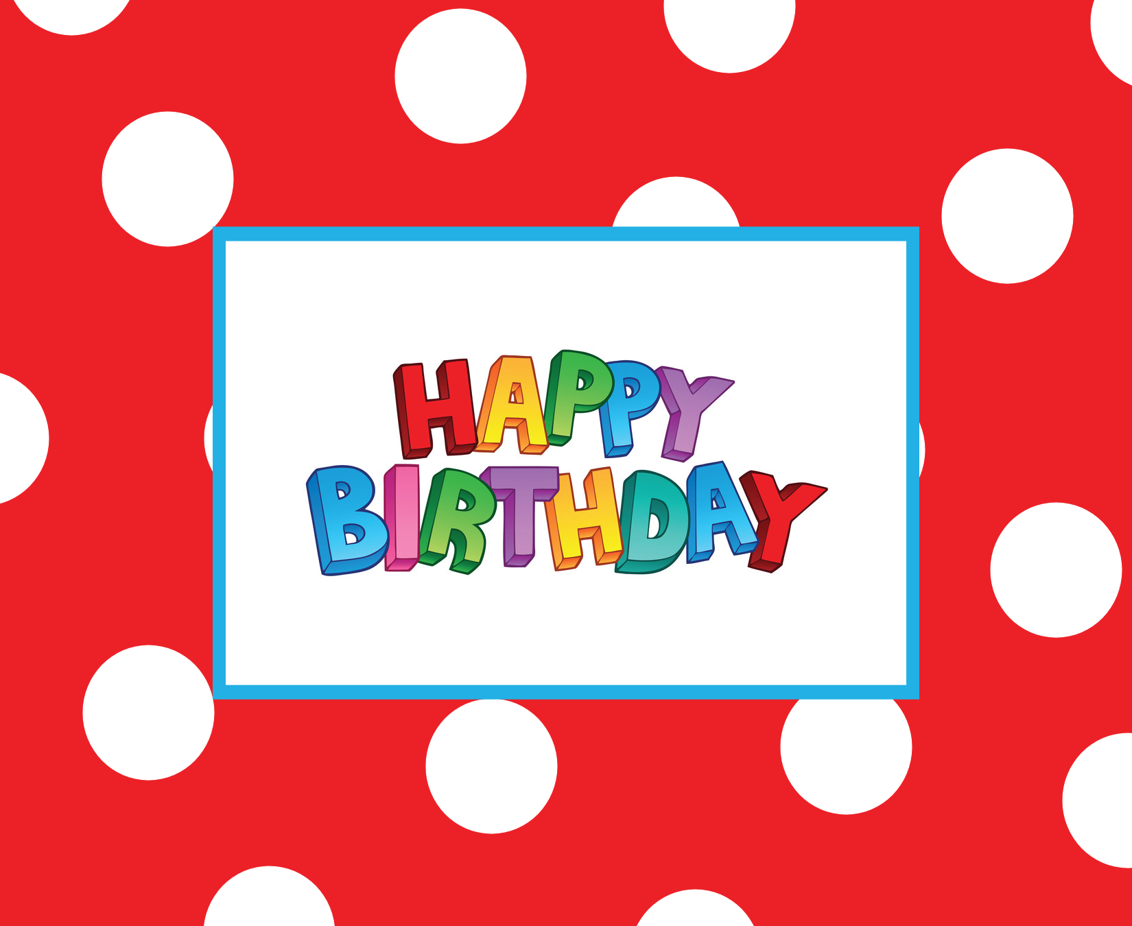 Free Printable Happy Birthday Cards gangcraftnet – Free Template Birthday Card