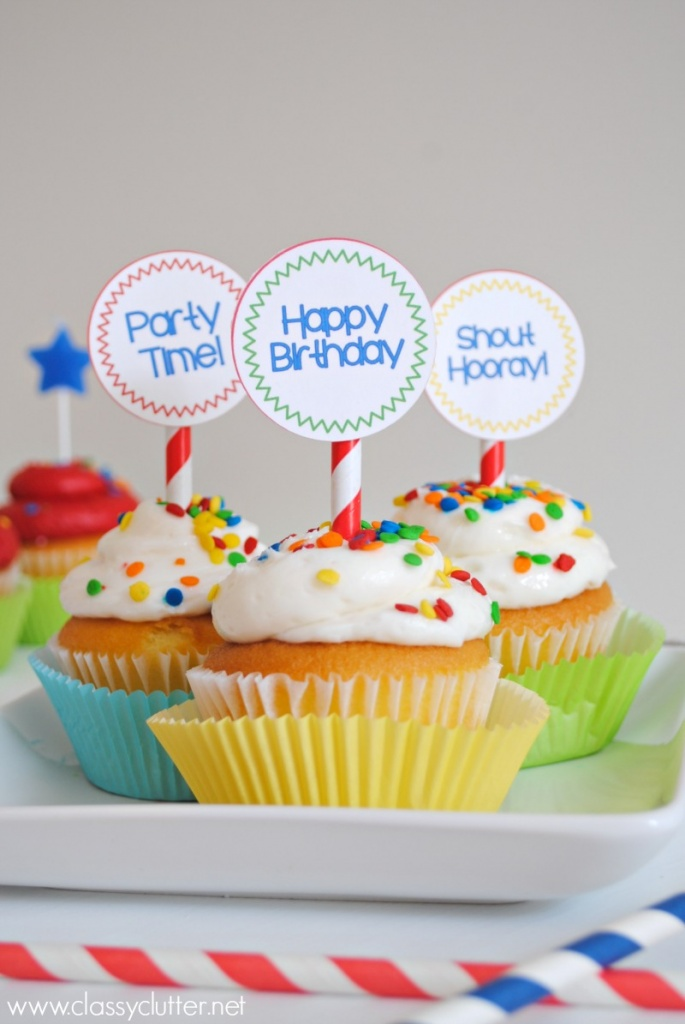 Cupcake Toppers 1