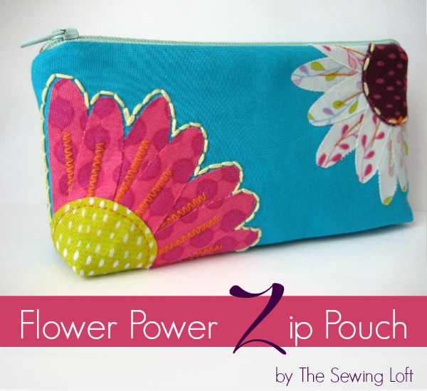 Flower Power Zipper Pouch