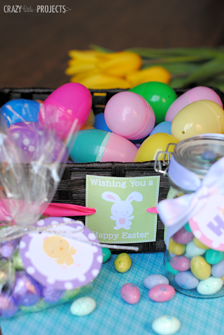 Cute Printable Easter Tags-4 to choose from
