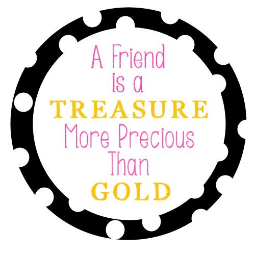 Free Printable Friendship Tag