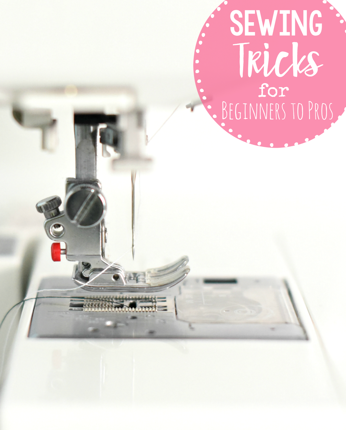 Sewing Tips for Beginners to Pros-Try all these wonderful sewing tips, tricks and hacks to help you master your sewing skills. #sew #sewing #sewingtips #sewingtricks #sewinghacks