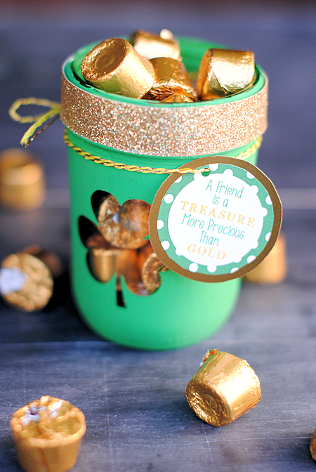 Cute Gift for a Friend: A Friend is a Treasure More Precious Than Gold {Free Printable Tag}