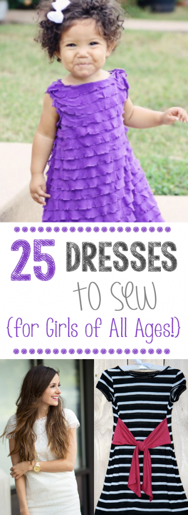 25 Dress Patterns