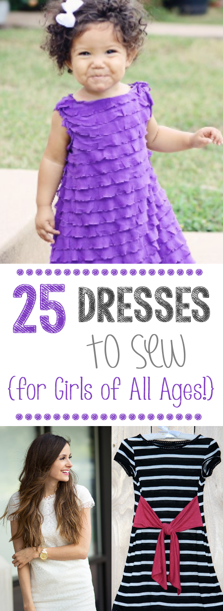 25 Dress Patterns for Girls
