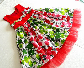 Christmas Dress Sewing Tutorial