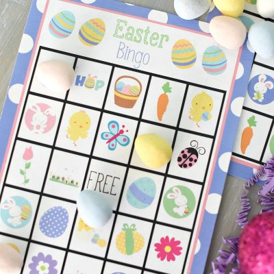Easter Bingo Games to Print and Play