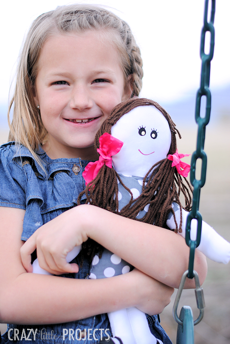Free Cloth Doll Sewing Pattern
