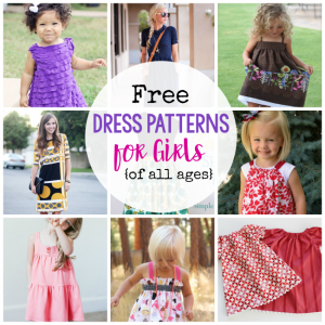 25 Free Dress Patterns for Girls {of all ages!}
