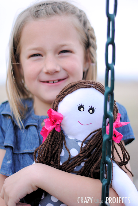 Simple Fabric Doll Sewing Pattern
