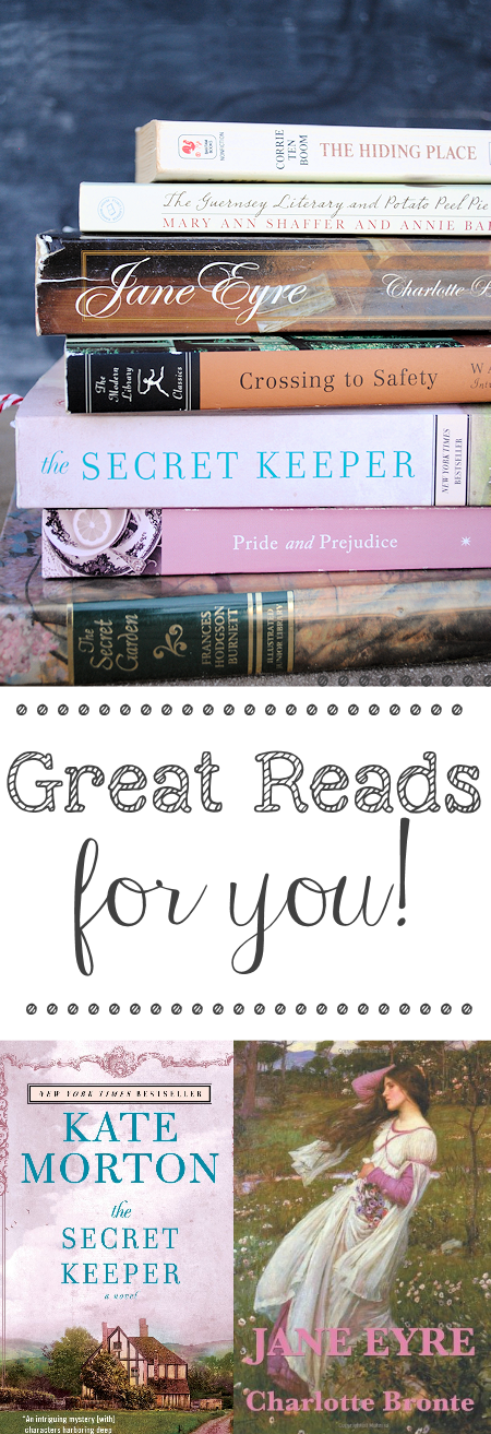 Need a good book to read? Here are some top recommendations for books you'll love!