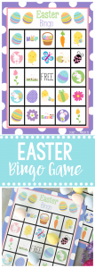 Cute Free Printable Easter Bingo Game-8 Bingo Cards Available