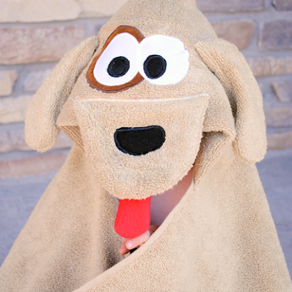 Puppy Dog Hooded Towel Pattern
