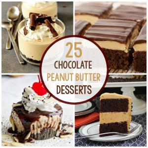 Chocolate Peanut Butter Desserts