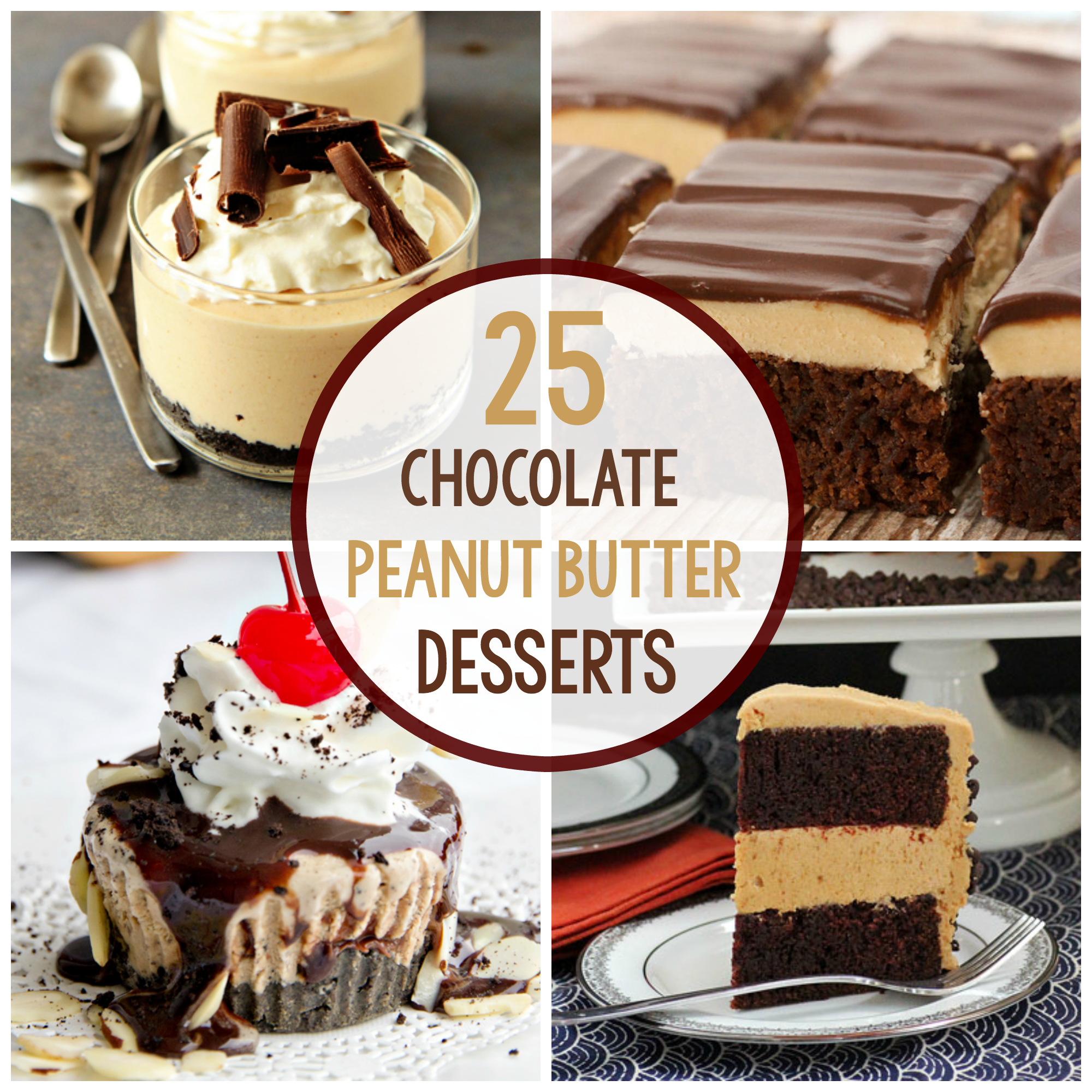 Chocolate Peanut Butter Dessert Recipes