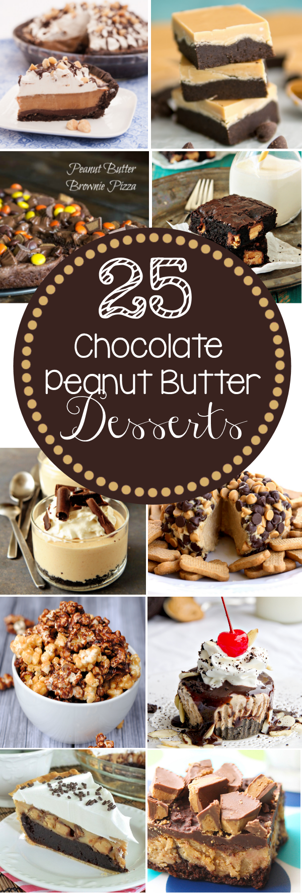 25 Chocolate Peanut Butter Desserts