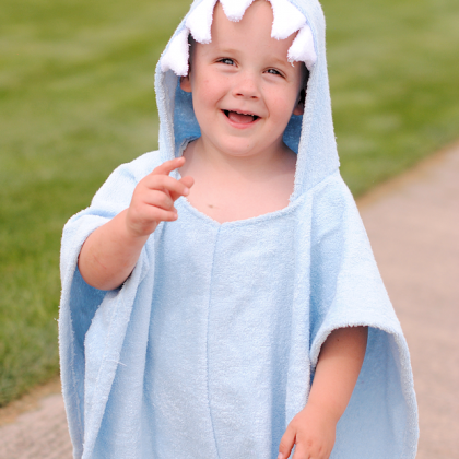 Kid's Hooded Beach Cover Up Tutorial