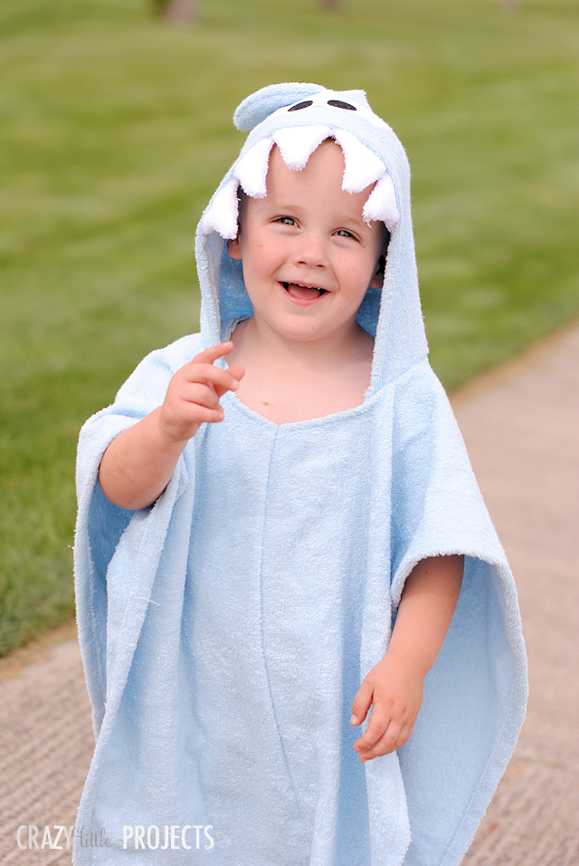 Kid's Hooded Swim Cover Up