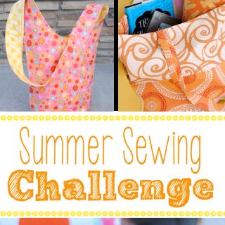 June Sew Crazy Challenge-In Summer!