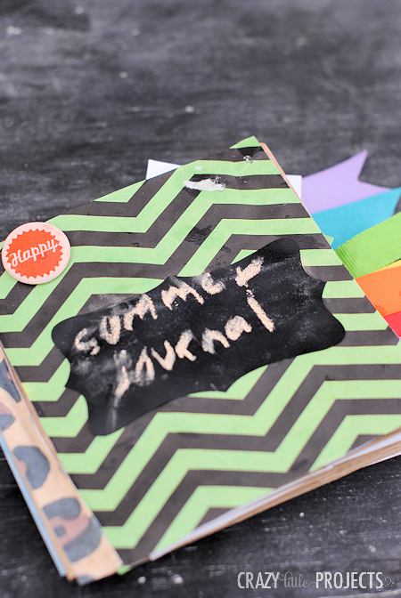Fun Journal Idea for Kids! Make a Journal Out of Paper Bags