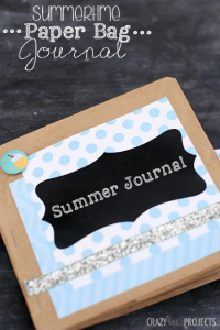 Kids Journal Idea-Made from Paper Bags