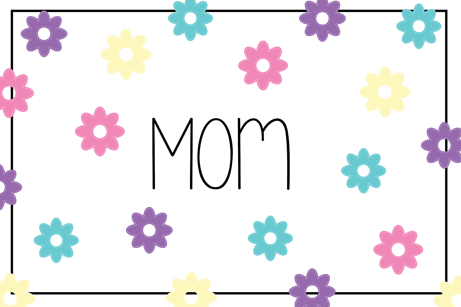 It's just a graphic of Gargantuan Mothers Day Card Printable