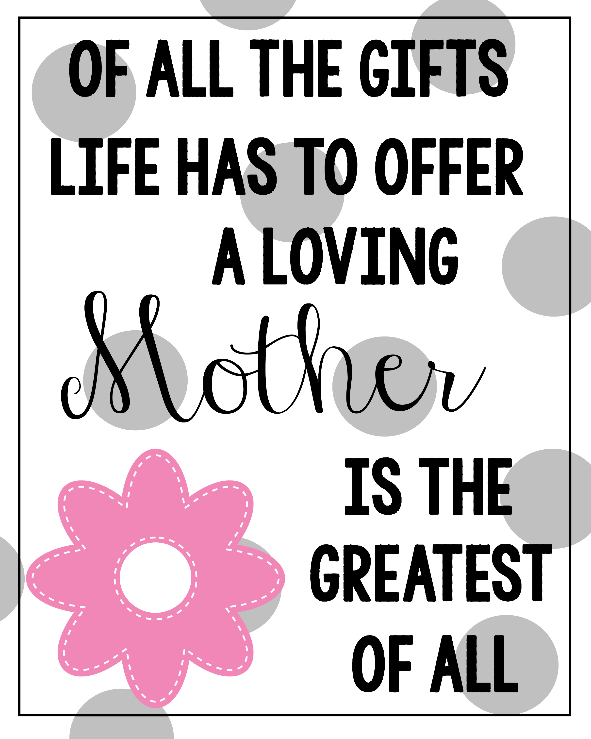 Rare image with regard to printable mothers day quotes