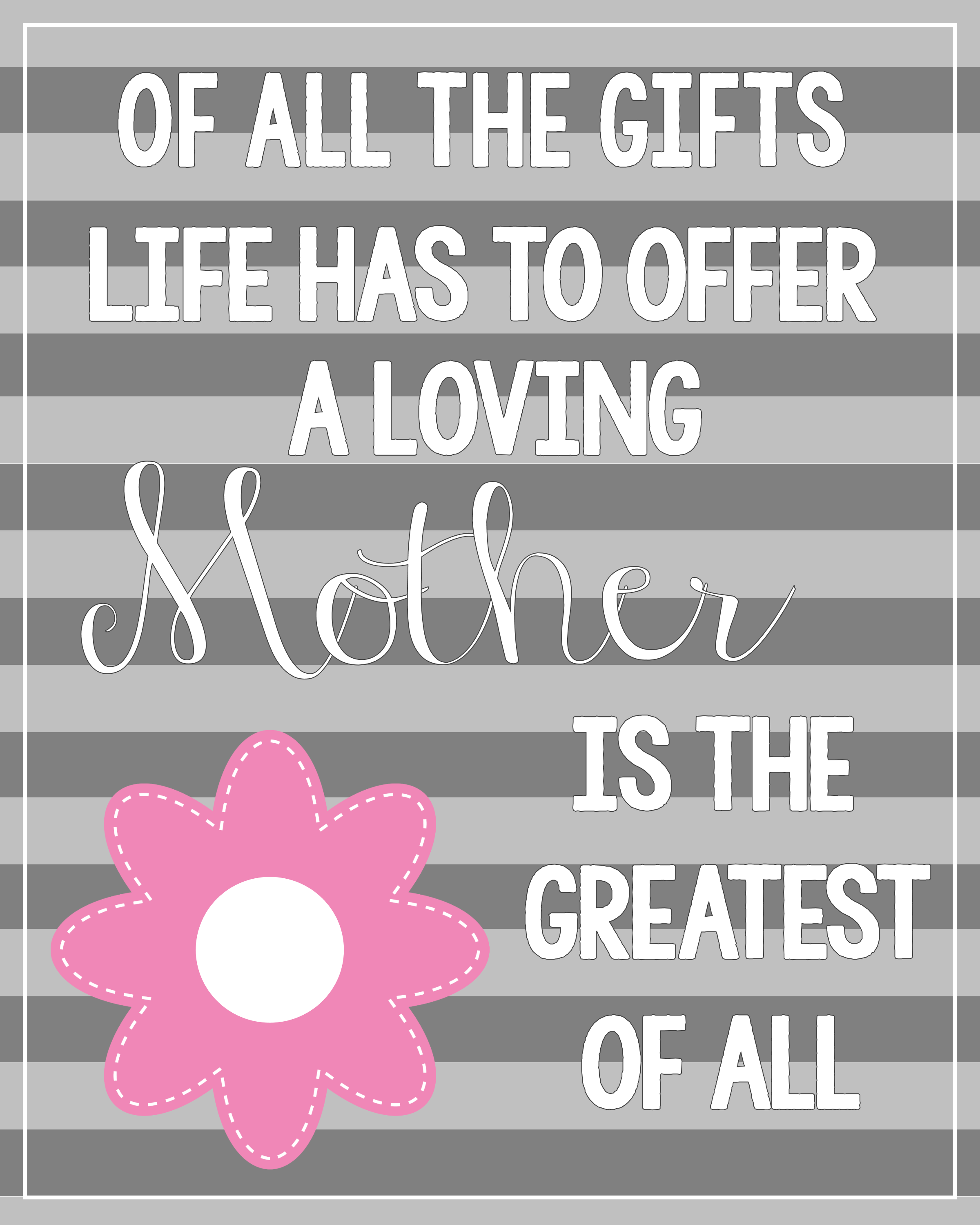 Lively image with regard to printable mothers day quotes