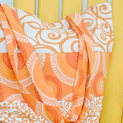 Easy Summer Tote Bag Pattern