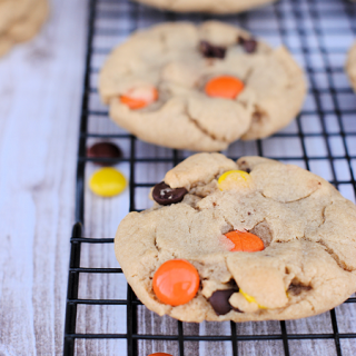 Peanut Butter Overload Cookies