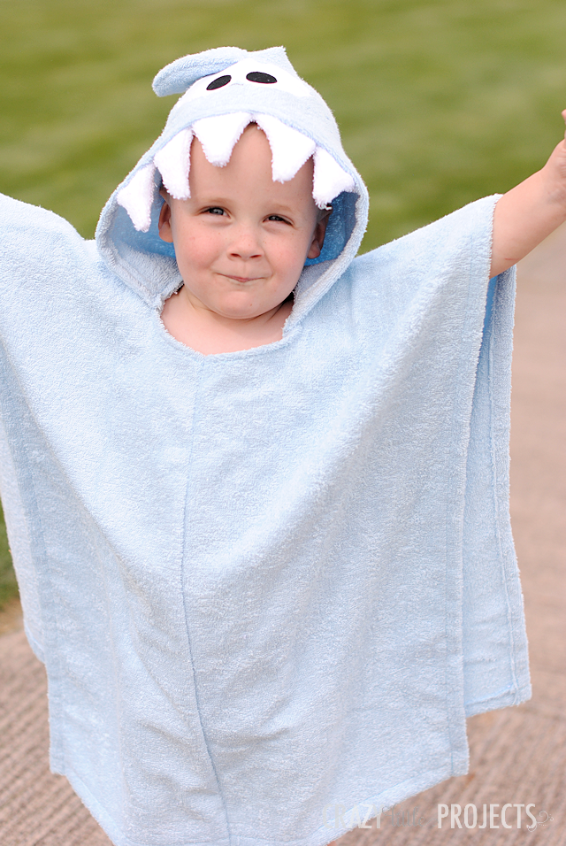 Hooded Beach Cover Up for Little Ones