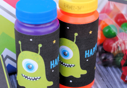 Space Themed Birthday Party Favors