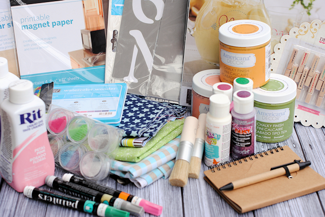 Summer Stash Giveaway! 25 bloggers giving aways craft stash gift baskets to 25 winners