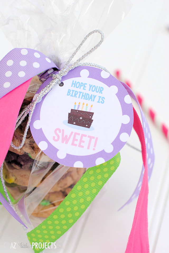 Free Printable Birthday Tag