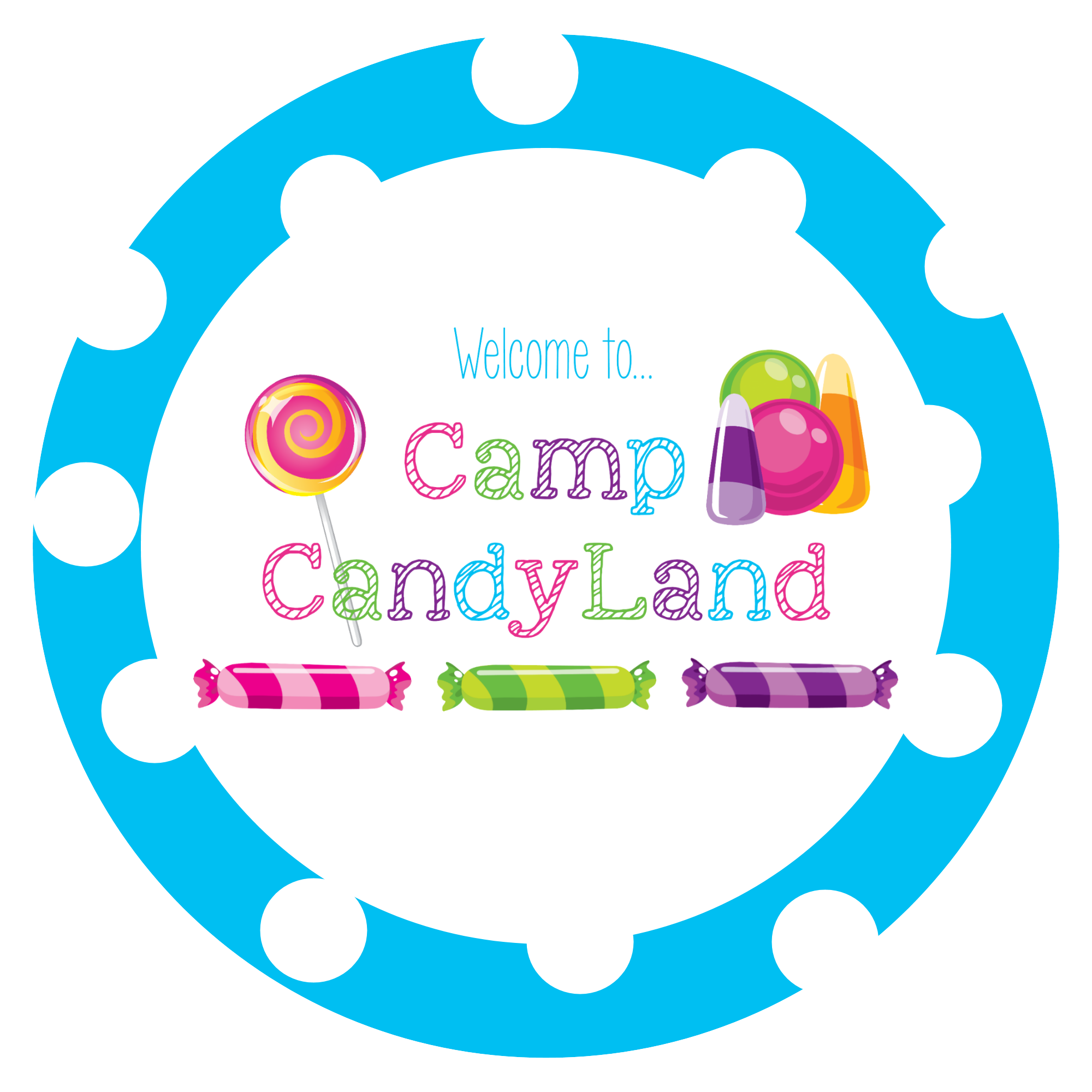 camp candyland girls camp ideas crazy little projects