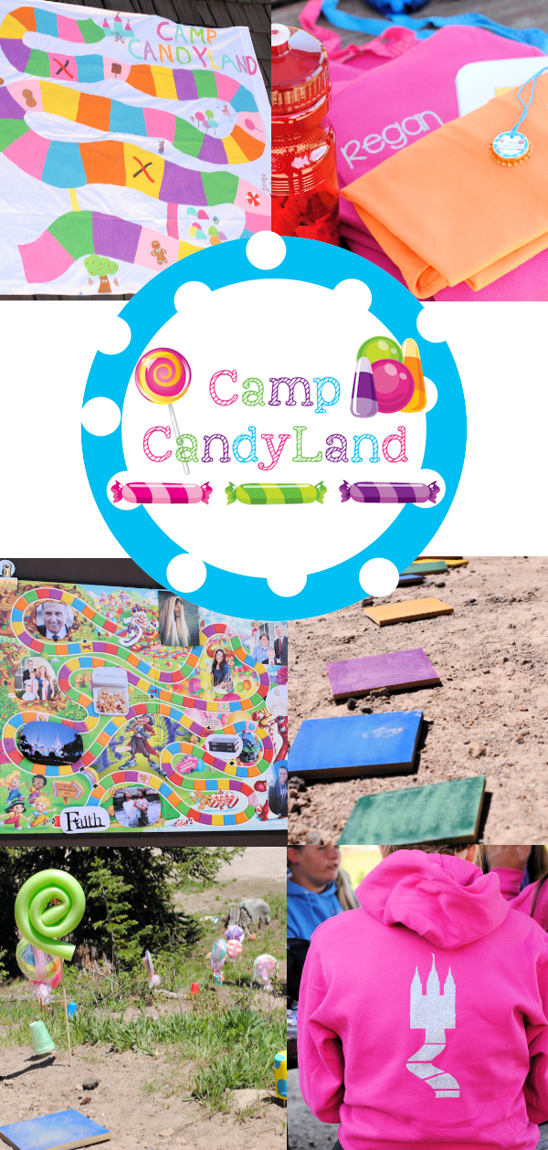 Camp Candyland Girls Camp Ideas - Crazy Little Projects