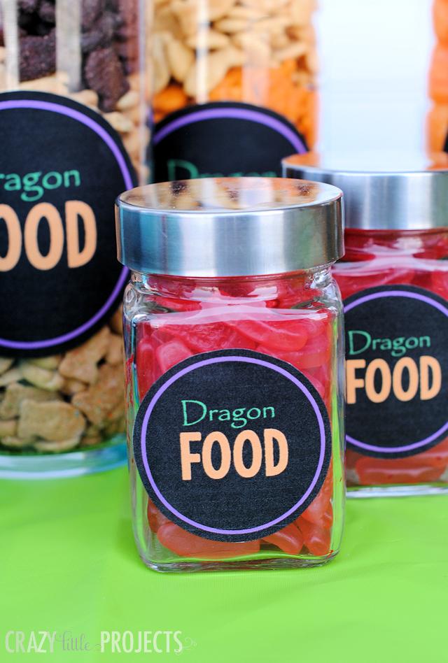 Dragonfoodpartyideas