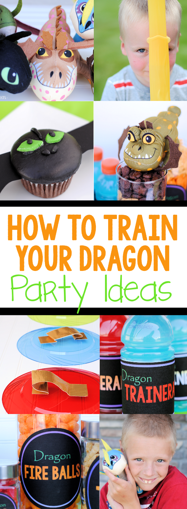 How to Train Your Dragon Party Ideas-Cute cupcakes, fun games, printables and more to make your birthday party great! #birthday #partyideas