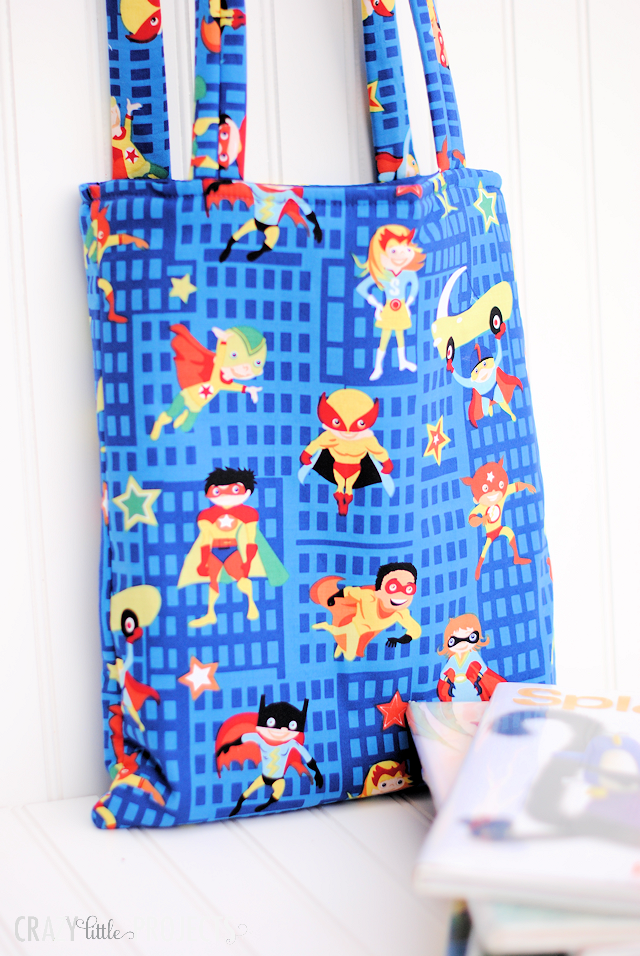 Easy Kid's Tote Bag Pattern