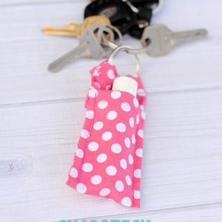 5 Minute Project: Keychain Chapstick Holder