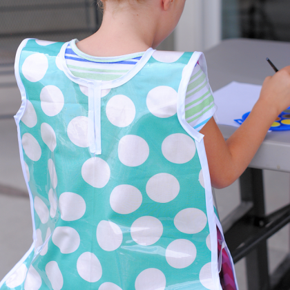 Kids Art Smock Pattern