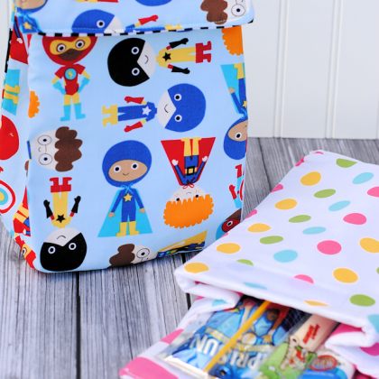 Kid's Insulated Lunch Bag Pattern