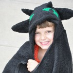 Toothless the Dragon Hooded Towel Tutorial