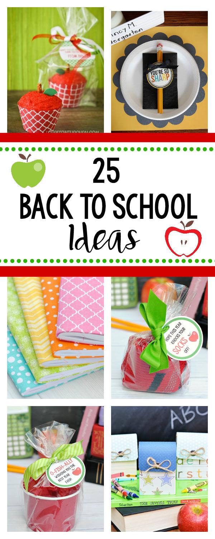 Fun Back to School Ideas